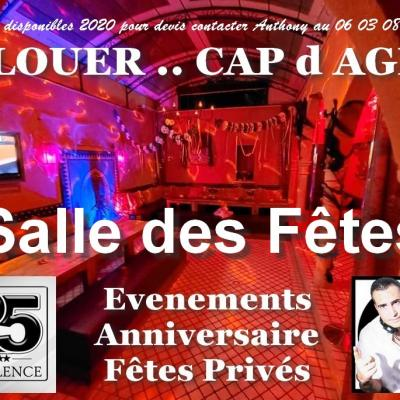 Salle des fêtes Riad5 Cap d Agde