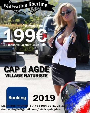 NEWSLETTER / R5 VILLAGE NATURISTE DU CAP d AGDE - FRANCE