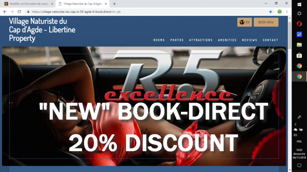 Book-direct -20% Libertine Property