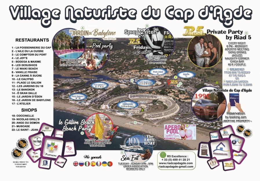 Booking Village naturiste du cap d Agde libertine property