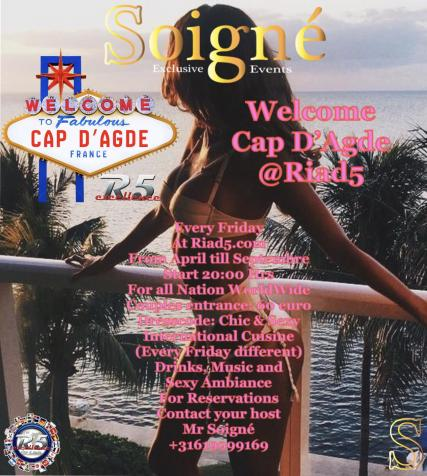 Friday welcome cap d agde 2019