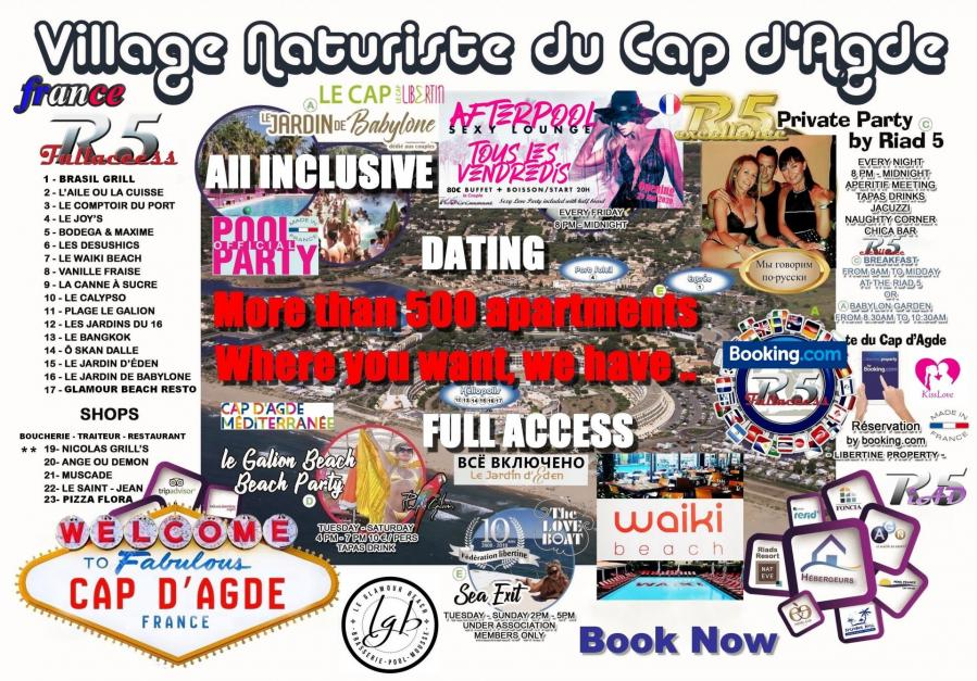 Newsletter ❌ R5 Village All inclusive and Full Access