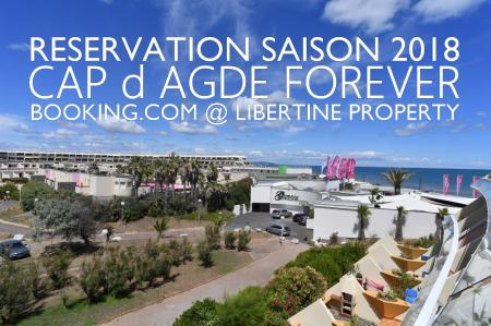 Réservation Booking.com Cap d Agde Libertine Property
