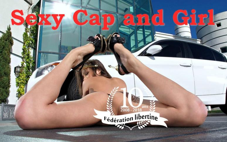 Sexy cap and girl