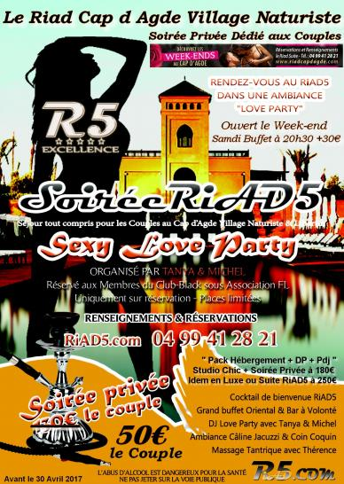 Sexy love party sept a avril 2017