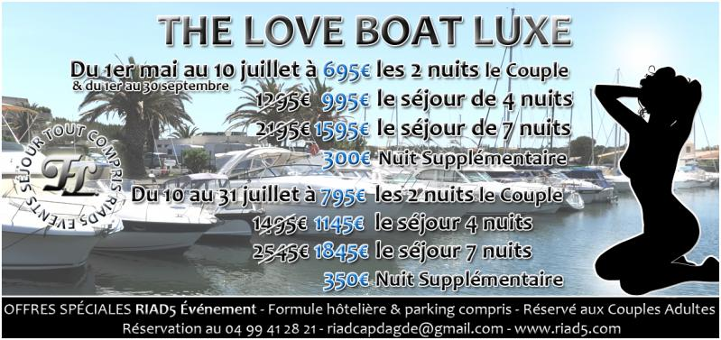 The love boat luxe