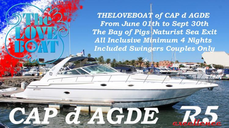 Theloveboat 2019 cap d agde