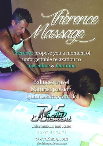 Massage Therence Cap d Agde