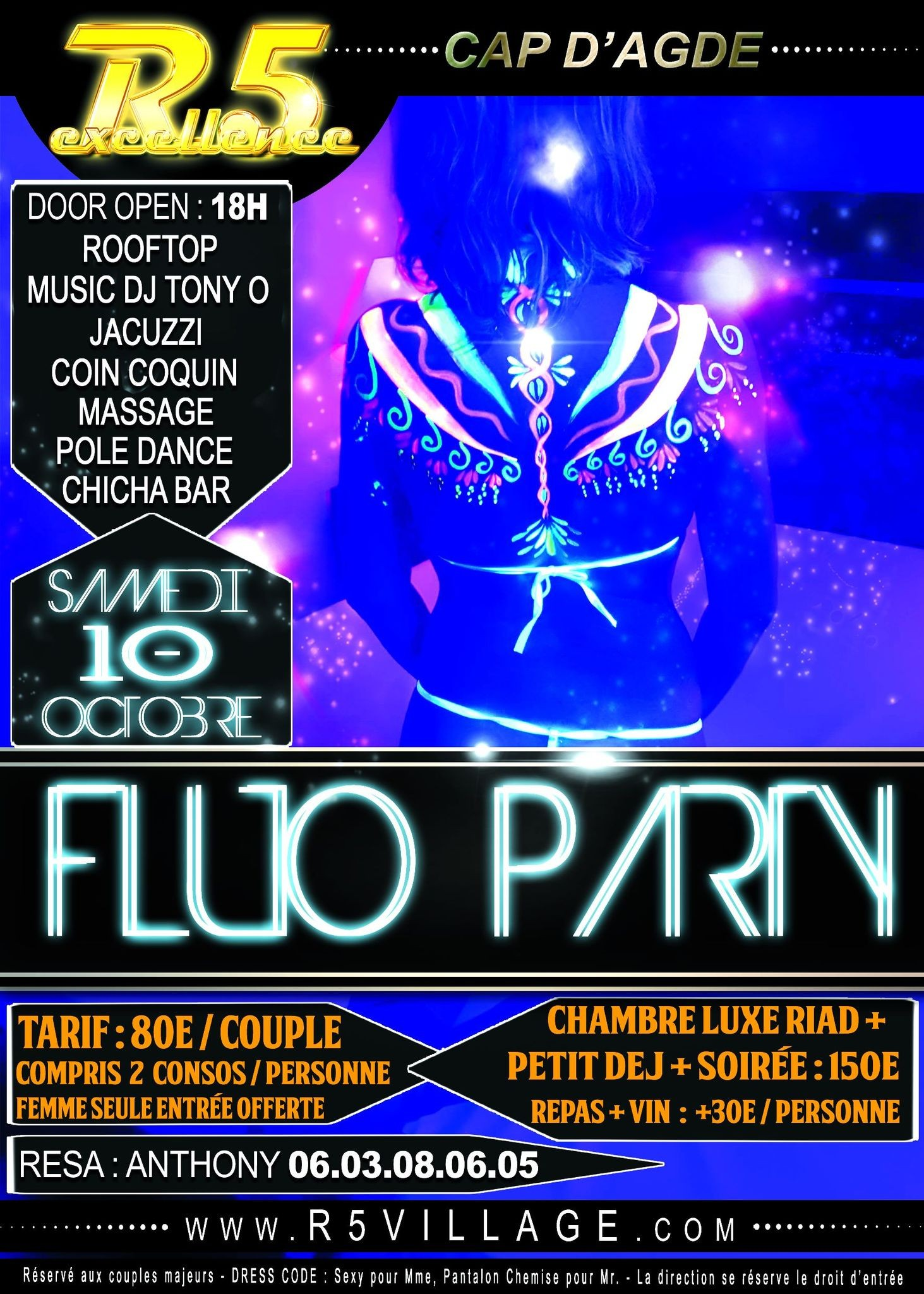 Samedi Fluo Party