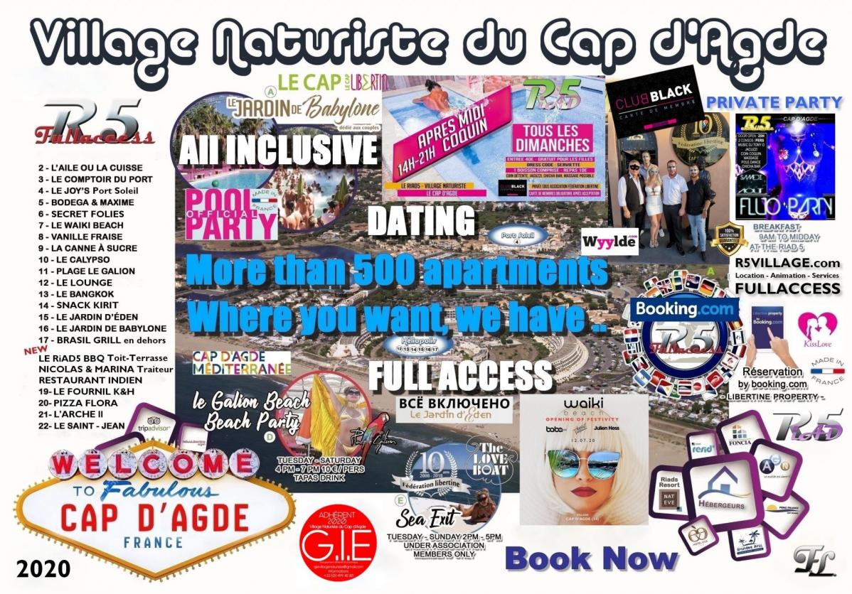 Contact R5 Village All inclusive and Full Access